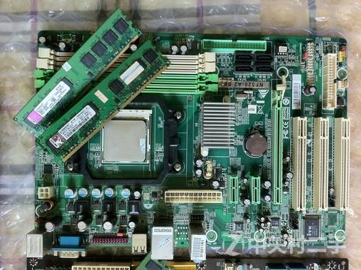 自用台式机主板cpu等配件 e8400 p45